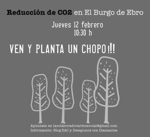 Convocatoria Reto Social Reducción CO2 con El Burgo de Ebro