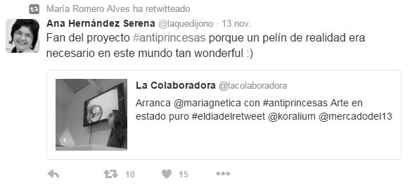 Twitter de Maria Romero Alves