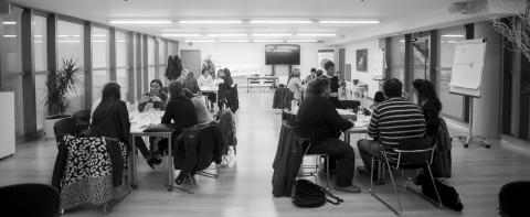 Taller de emprendimiento colaborativo en Vitoria
