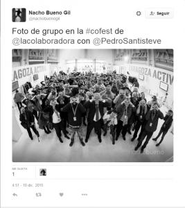 Tweet de Nacho Bueno