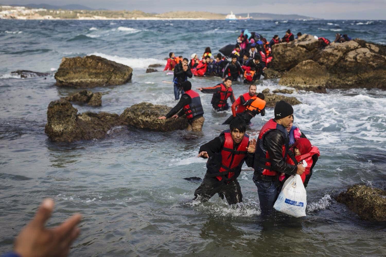 Bomberos de GFire ayudan a refugiados en Grecia