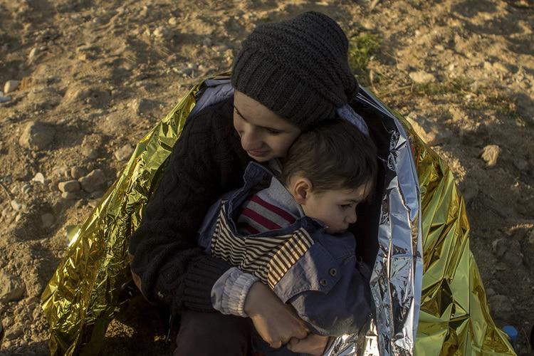 Familias refugiadas de María T. Solanot