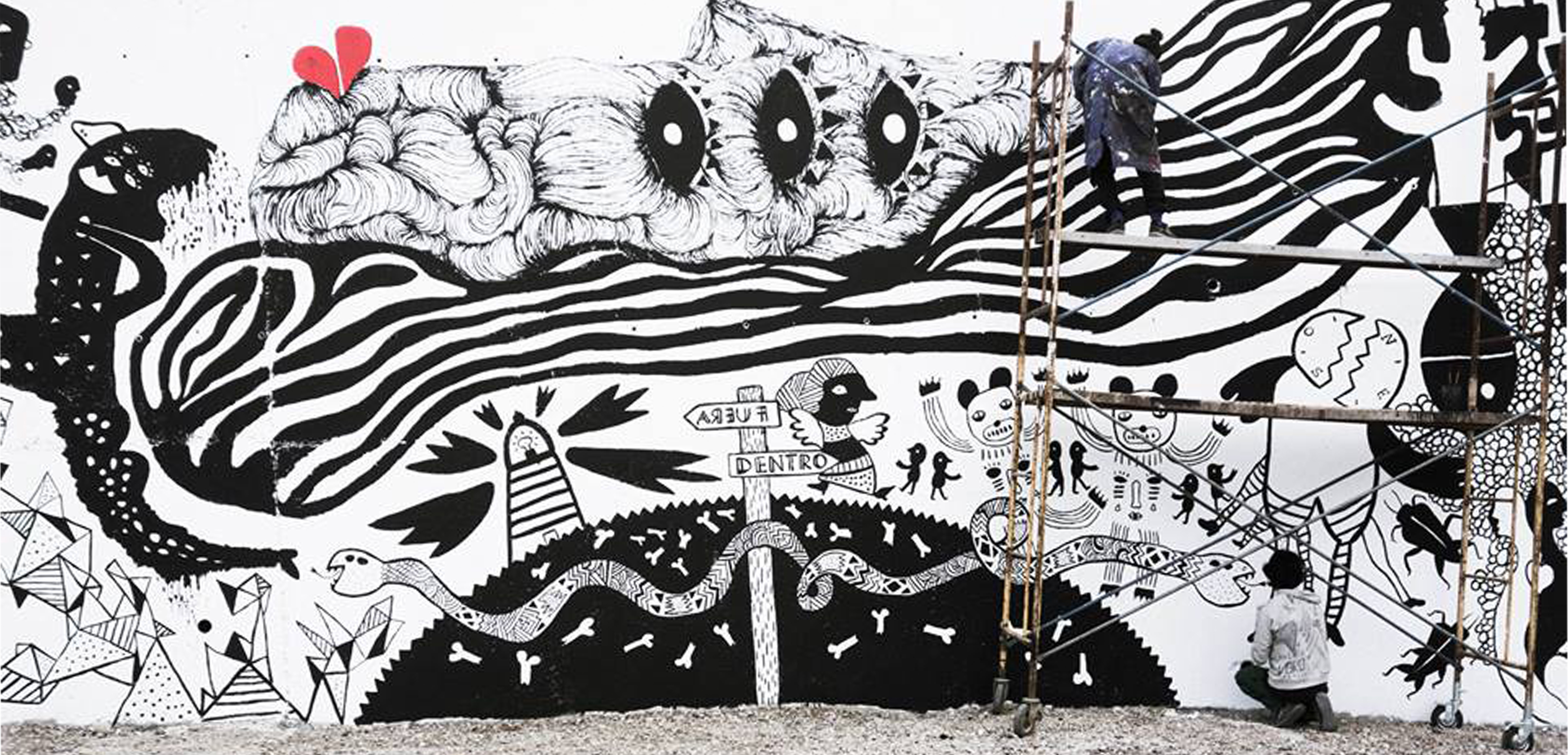 Mural Fratelli Moca