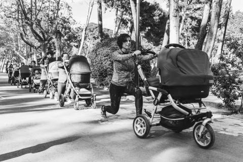 Ana Aranda ayuda a las mamás a estar en forma con su bebé