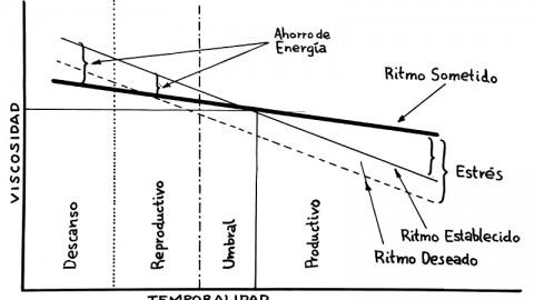 Itinerarios vitales e interacciones viscosas