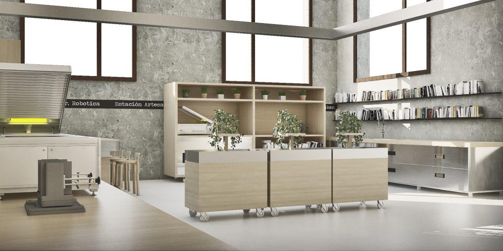 Diseño y Render by Pisamoreno Estudio Creativo.