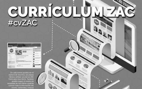 El currículum del futuro: Currículum ZAC #cvZAC