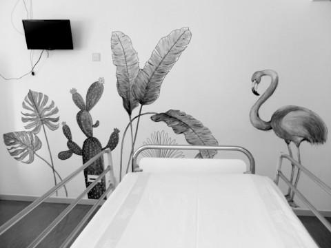 Una galería de arte en el hospital: Believe in Art