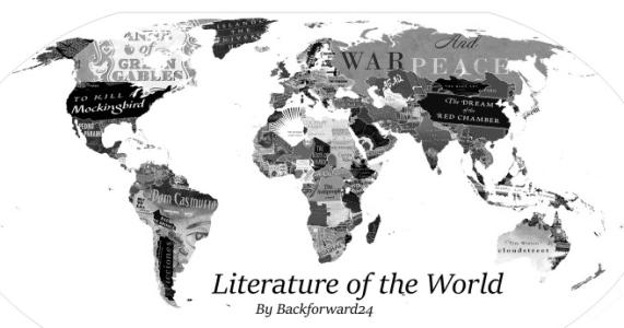 mapa mundi literario