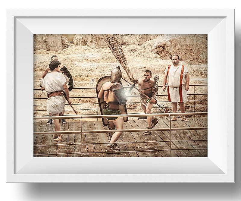lucha-romana-con-red