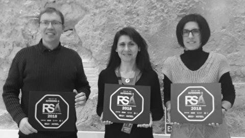 Tres proyectos de La Colaboradora obtienen el Sello de Responsabilidad Social de Aragón