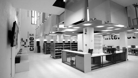 BJ Cubit, una de las bibliotecas más encantadoras de Zaragoza