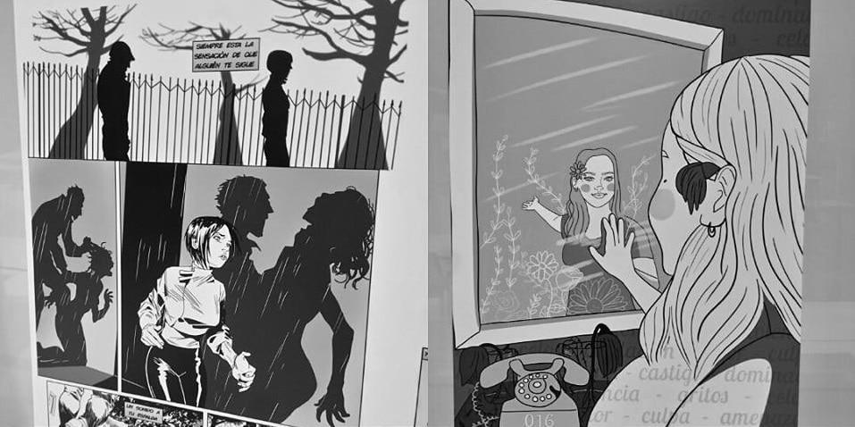Cómics contra la violencia de género