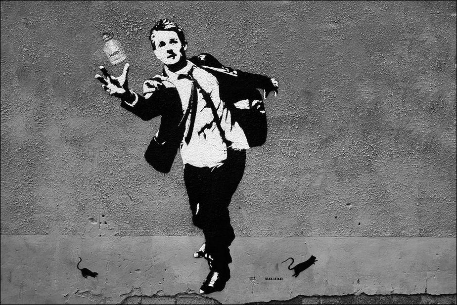 arte urbano, street art, graffiti, stencil, activismo