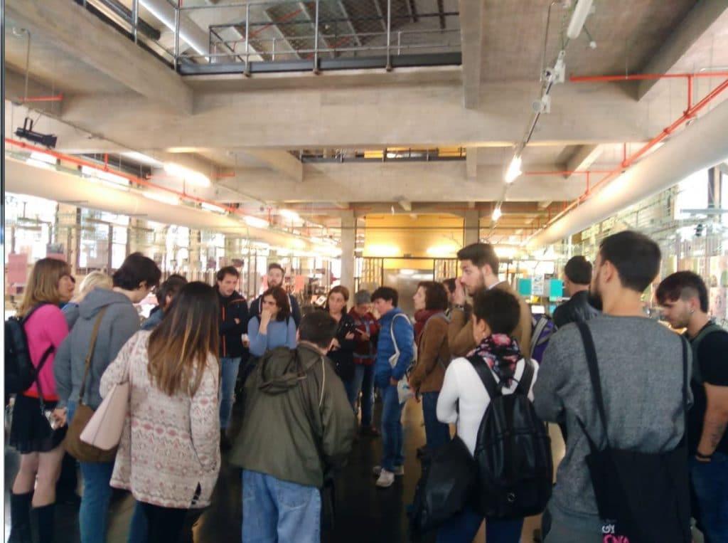 Visita a Media-lab-Prado